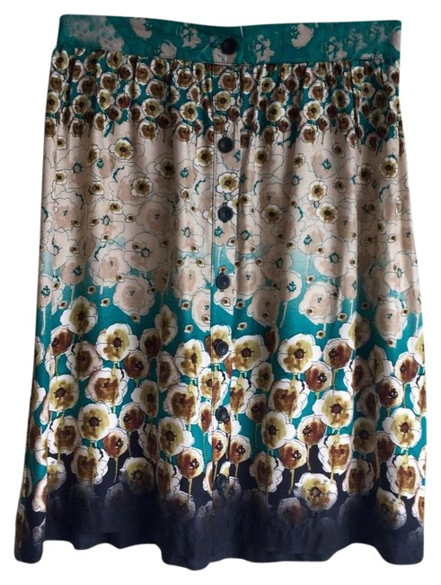 Preload https://img-static.tradesy.com/item/18266161/lily-white-blue-a-line-floral-skirt-size-4-s-27-0-3-650-650.jpg