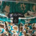 Lily White Black Floral Tan Skirt Blue Image 6
