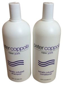 Peter Coppolla Keratin infused shampoo and conditioner