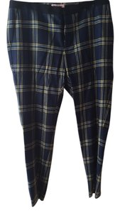Juicy Couture Straight Pants plaid