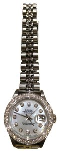 Rolex Rolex Stainless Steel Oyster Perpetual Datejust with diamonds 26mm model 79174