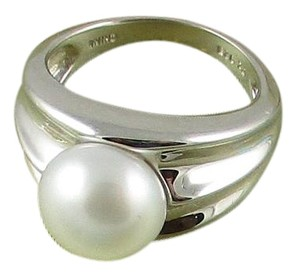 Honora Honora Cultured Pearl 9.5mm Sterling Silver Ring - Size 6