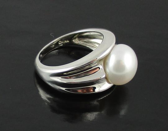 Honora Honora Cultured Pearl 9.5mm Sterling Silver Ring - Size 6 Image 1