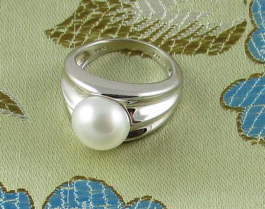 Honora Honora Cultured Pearl 9.5mm Sterling Silver Ring - Size 6 Image 11