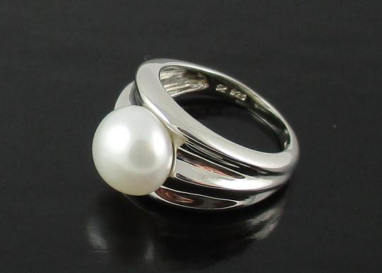 Honora Honora Cultured Pearl 9.5mm Sterling Silver Ring - Size 6 Image 3