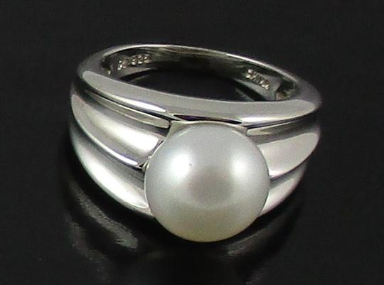 Honora Honora Cultured Pearl 9.5mm Sterling Silver Ring - Size 6 Image 4