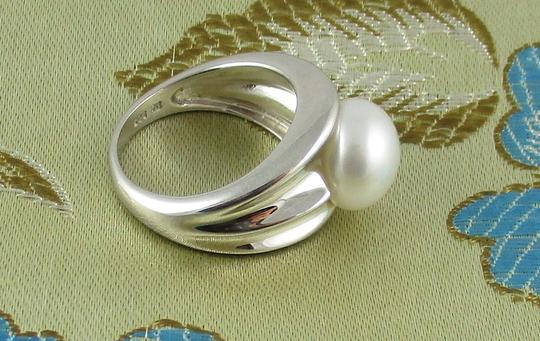 Honora Honora Cultured Pearl 9.5mm Sterling Silver Ring - Size 6 Image 6