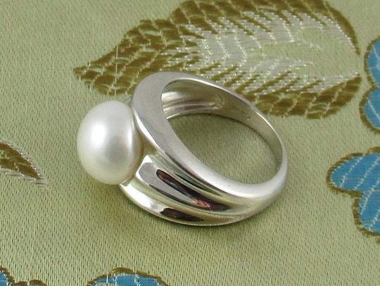 Honora Honora Cultured Pearl 9.5mm Sterling Silver Ring - Size 6 Image 7