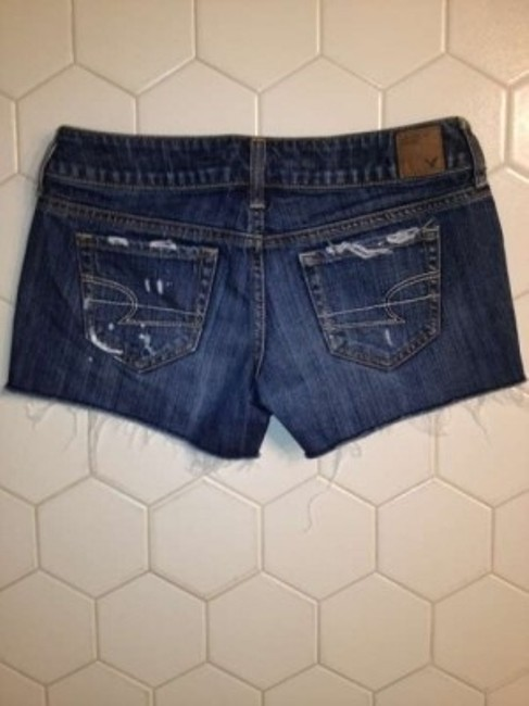 American Eagle Outfitters Size Denim Shorts-Distressed