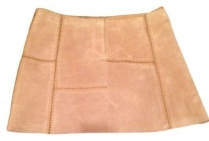 Bebe Mini Skirt beige