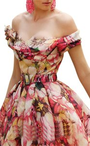MNM Couture Long Floral Ball Gown Dress