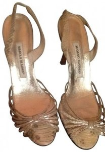 Manolo Blahnik snakeskin Formal