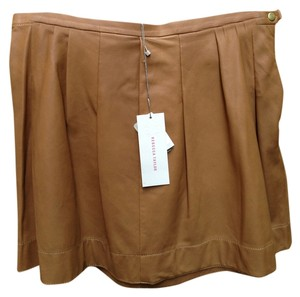 Rebecca Taylor Mini Skirt camel/tan