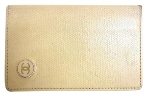 Chanel Lambskin leather bifold ID card holder