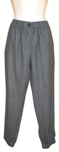 J.Crew Wool Ankle Skinny Zipper Fall Skinny Pants Gray
