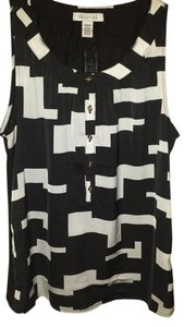 Kenneth Cole Reaction Top Black / white