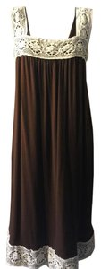 Rachel Pally short dress Brown/Cream on Tradesy
