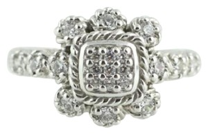 Judith Ripka Judith Ripka CZ Cocktail Ring - Sterling Silver Estate Fashion