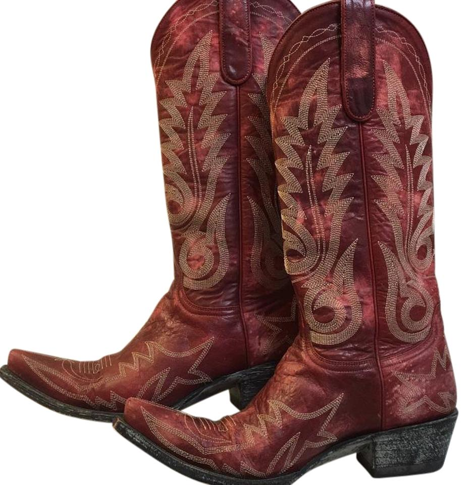 Old Gringo Red Red Gringo Nevada 13 Boots/Booties 585951