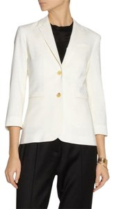 The Row Jacket Wool Gold White Blazer