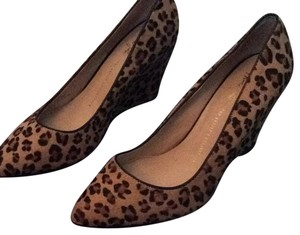 Franco Sarto Animal print, leopard Wedges