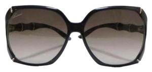 Gucci Authentic Gucci Black 3508/S 58MM Bamboo Detail Sunglasses