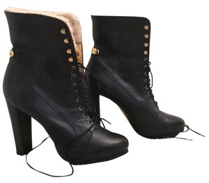 Ted Baker Shearling black Boots