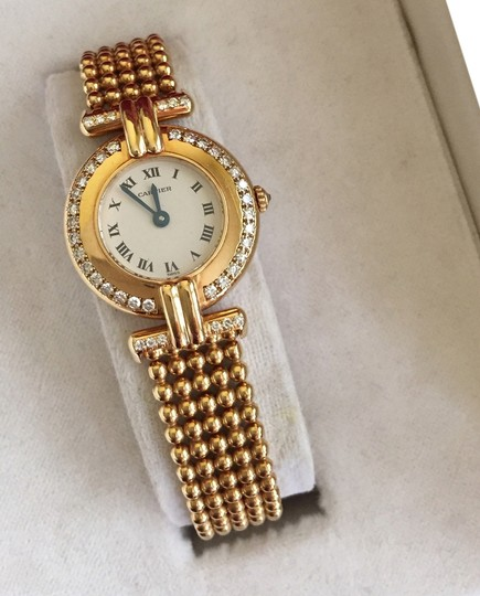 Preload https://item1.tradesy.com/images/cartier-yellow-18k-gold-rivoli-paris-with-diamonds-watch-1828160-0-0.jpg?width=440&height=440