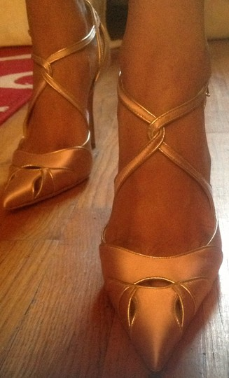 Dior Pink and gold Pumps