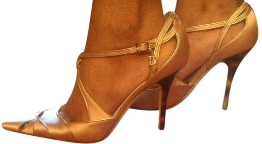 Dior Pink and gold Pumps Image 1