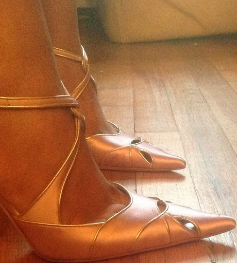 Dior Pink and gold Pumps Image 3
