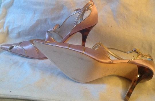 Dior Pink and gold Pumps Image 4