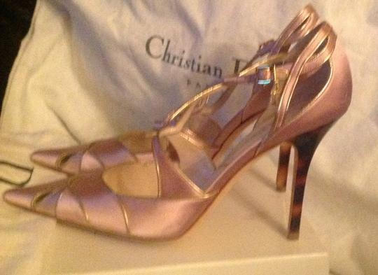 Dior Pink and gold Pumps Image 5