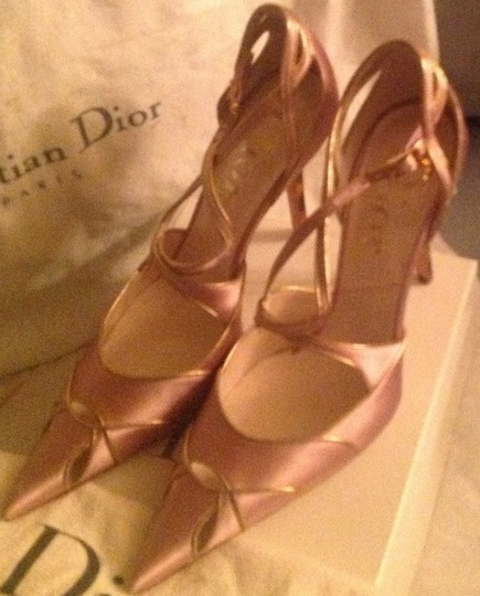 Dior Pink and gold Pumps Image 6