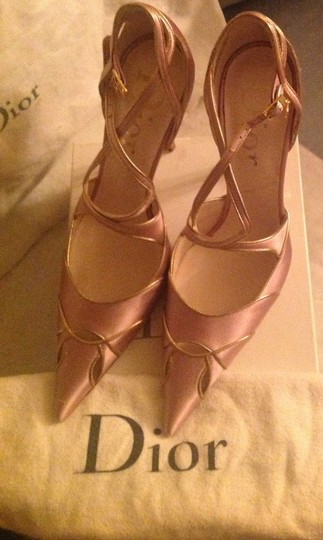 Dior Pink and gold Pumps Image 7