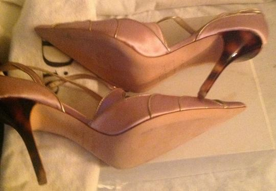 Dior Pink and gold Pumps Image 8