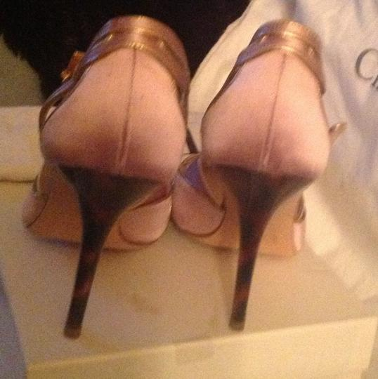 Dior Pink and gold Pumps Image 9