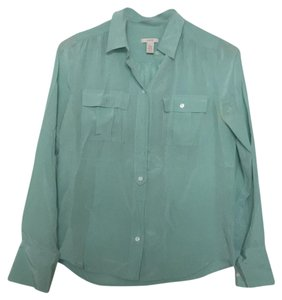 J.Crew Top Mint green / seafoam green