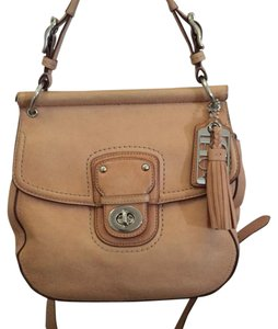 Coach Vachetta Saddle Cross Body Bag