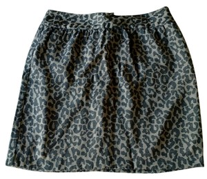 Banana Republic Fall Skirt leopard print