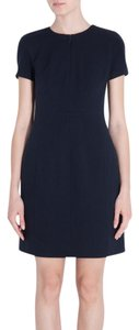 Diane von Furstenberg Agatha Ponte Knit Navy Dress