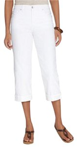 Style & Co Pants Jeans Capris white
