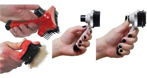 Vecceli Italy SELF-CLEANING PET BRUSH SCP-100