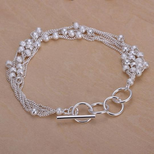 Bogo Free Silver Plated Bracelet Free Shipping