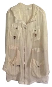 Rag & Bone Cream (sheer) Jacket
