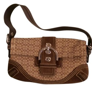 Coach Brown Classic Shoulder Bag