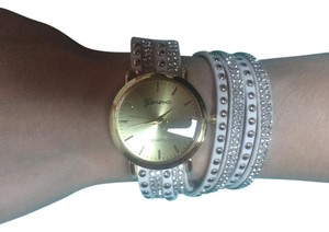 Other Trendy Embellished Wrap Watch