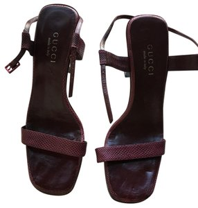 Gucci Wine red Sandals