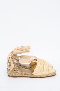 Stuart Weitzman Denia Yellow Espadrille Light Yellow Sandals