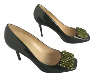 Kate Spade Olive Green Pumps